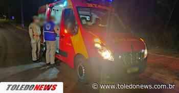 Motociclista sofre fratura após acidente no Jardim Concordia - Toledo News