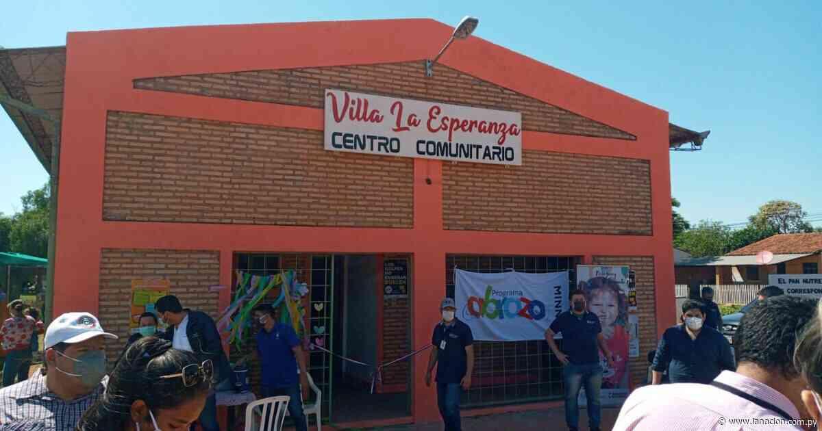 Itacurubí del Rosario: inauguran nuevo centro e incluyen a 50 familias en el Programa Abrazo - La Nación.com.py