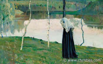 Mikhail Nesterov Russian painting Sacred Lake - Christie's