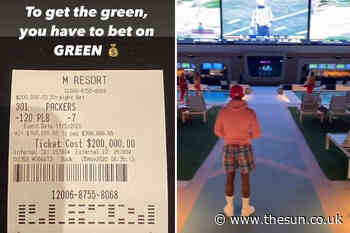 Floyd Mayweather wins £150k NFL bet watching at pool party with bikini-clad waitresses then leaves with wads - The Sun