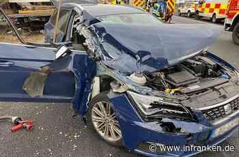 Lauf an der Pegnitz: Verkehrsunfall mit drei Verletzten auf A9 - inFranken.de