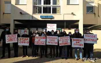 Seine-et-Marne. Les enseignants du collège La Boétie de Moissy-Cramayel se mobilisent pour un meilleur protocole - actu.fr