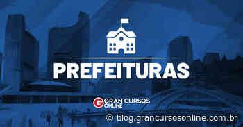 Concurso Monte Santo de Minas MG: inscrições prorrogadas. VEJA! - Gran Cursos Online