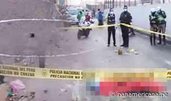 Asesinan a estibador en la avenida Zarumilla en SMP | Panamericana TV - Panamericana Televisión