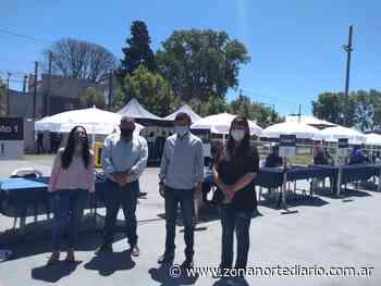 Posse encabezó una nueva entrega de tarjetas alimentarias en Villa Adelina - Zona Norte Diario OnLine