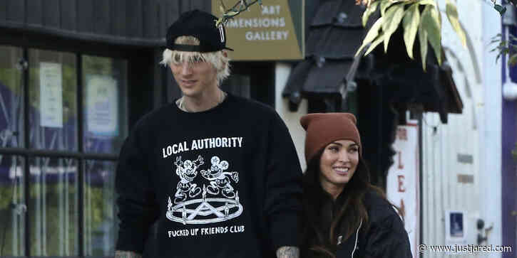 Megan Fox Looks So In Love While Holding Hands With Machine Gun Kelly