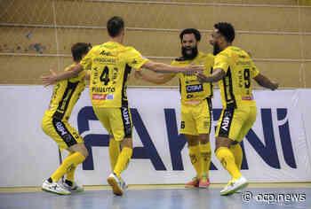 Jaraguá Futsal vira sobre o Curitibanos e estreia com vitória no Campeonato Catarinense - OCP News