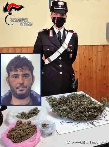 Catania. Belpasso, utilizzava un casolare abbandonato e la carcassa di un'auto per nascondere la droga - Libertà Sicilia