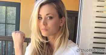 Kaley Cuoco Showcases 'Butt Mohawk' From Muddy Park - The Blast