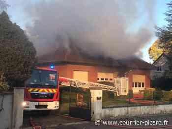 Incendie dans un pavillon de Corbie - Courrier Picard