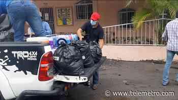 Jóvenes de la Iglesia Católica en Gualaca están recibiendo donaciones para residentes afectados - Telemetro