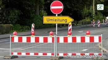 Straße in Oldesloer Ortsteil Glinde wegen Sanierung gesperrt - Hamburger Abendblatt