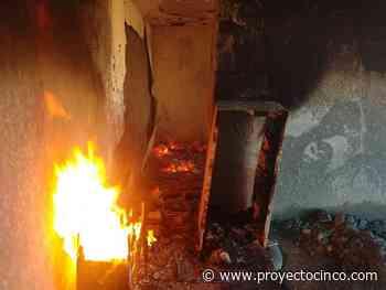 Alarma a vecinos un incendio al interior de un domicilio en Huamantla, Tlax. - Informativo ProyectoCINCO