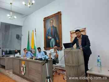 Alcalde de Santa Rosa de Cabal presentó informe de gestión ante el Concejo Municipal - El Diario de Otún