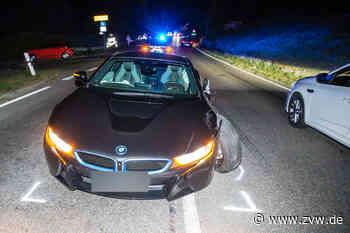 Schwerer Verkehrsunfall auf der B14 bei Oppenweiler: Zwei Verletzte bei Frontalzusammenstoß - Zeitungsverlag Waiblingen