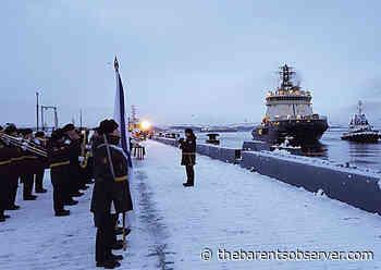 New icebreaker arrives in Severomorsk | The Independent Barents Observer - The Independent Barents Observer