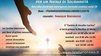 """Caritas interparrocchiale Meta-Piano di Sorrento: raccolta fondi per un """"Natale di Solidarietà"""" - Positanonews"""