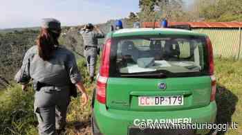 SAN GIORGIO IONICO - Autodemolitore abusivo scoperto dai Carabinieri Forestali - ManduriaOggi