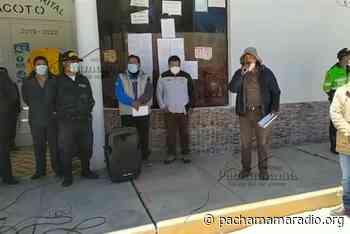 Pobladores de Atuncolla también rechazan construcción de relleno sanitario en Caracoto - Pachamama radio 850 AM