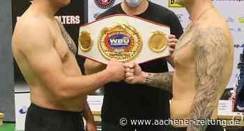 Boxen in Ratheim: Chancen auf Europameistertitel stehen bei 50:50 - Aachener Zeitung
