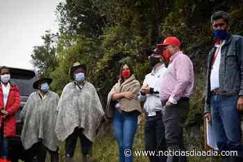 ¡Enhorabuena! Construirán placa huella en la vereda Corrales de Pasca, Cundinamarca - Noticias Día a Día