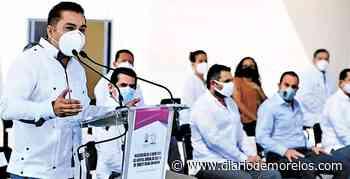 Atestigua diputado Sotelo obra de hospital en Jojutla - Diario de Morelos