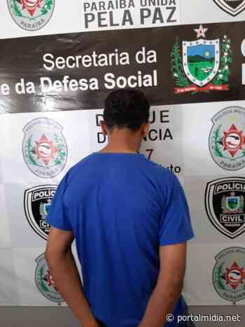 Policiais Civis de Alagoa Grande prendem homem acusado de violência doméstica contra os pais - PortalMidia