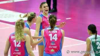 A1 donne, Monza beffa Casalmaggiore - La Gazzetta dello Sport