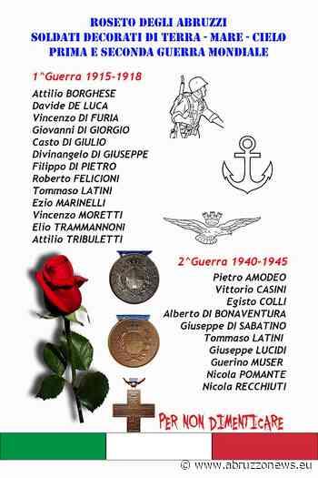 Roseto degli Abruzzi, inaugurazione lapide soldati rosetani: ecco quando - Abruzzonews