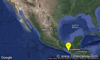 Reporta Sismológico Nacional otro sismo de magnitud 5.5 en Mapastepec, Chiapas - tabasco hoy