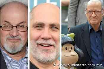 Salman Rushdie, Guillermo Arriaga y homenaje a Quino en FIL Guadalajara - Publimetro México