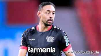 Umstrittenes Rot für Karim Bellarabi! Bayer Leverkusen bei Slavia Prag nur noch zu zehnt - Sportbuzzer