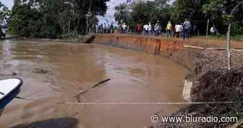 Alerta en Nechí por riesgo de colapso de muro de contención del río Cauca - Blu Radio