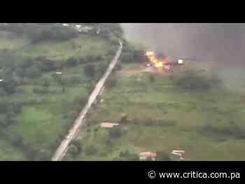 Incendio en bodega de Calzada larga   Critica - Crítica