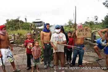 Indígenas en Puerto Ayacucho protestaron por fallas en servicios públicos - La Prensa de Lara