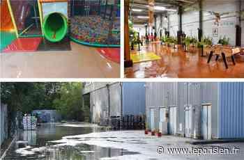 Emerainville : la rupture de canalisation paralyse l'activité de Jungle Paradis - Le Parisien