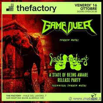 GAME OVER + LAST CENTURY @ The Factory, San Martino Buon Albergo (VR) – 16/10/2020 - MetalPit