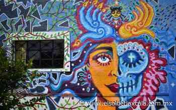 Con murales en Amaxac y Apizaco, Daniela Bonilla lleva mensaje de feminismo - El Sol de Tlaxcala