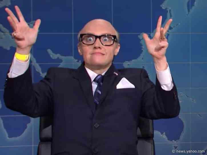 SNL's Kate McKinnon lampoons Rudy Giuliani's bizarre Philadelphia press conference