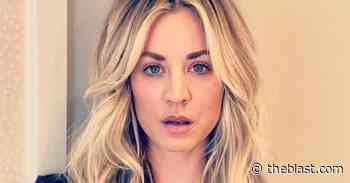 Kaley Cuoco Loses Coverage, Not Class, In Dinner Corset Spill-Out - The Blast