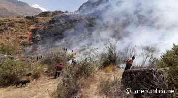 Cusco: solicitan helicópteros para apagar incendios forestales en Urubamba y San Salvador - LaRepública.pe