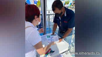 Air-e realizó jornada de atención integral en Palmar de Varela - EL HERALDO