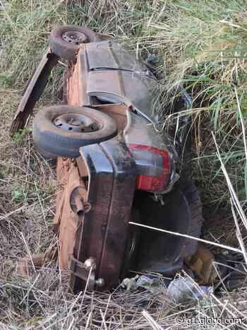 Grávida de 37 semanas morre após capotamento em Faxinal; motorista é preso por embriaguez ao volante - G1
