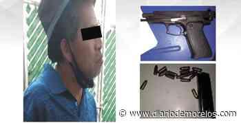 Detienen a un hombre armado en Emiliano Zapata - Diario de Morelos