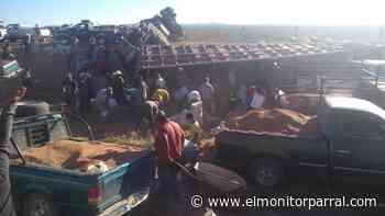 ACCIDENTE EN LA CARRETERA A GOMEZ PALACIO - El Monitor de Parral
