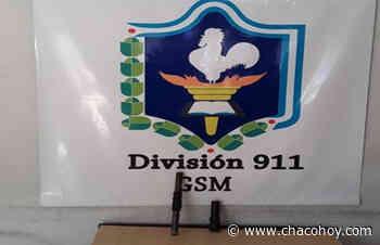 General San Martin, tras desorden detuvieron a un sujeto armado - ChacoHoy