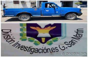 General San Martin, personal policial secuestro una camioneta buscada por la justicia desde Buenos Aires - ChacoHoy