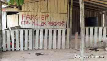 Grafitis generaron temor en La Montañita Caquetá - Caracol Radio