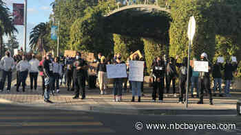 Tensions Escalate Over Political Display in Brentwood - NBC Bay Area