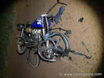 Mueren dos motociclistas durante supuesta carrera en Santa Rita - ÚltimaHora.com